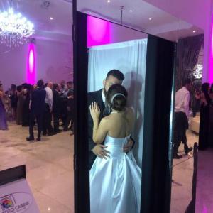 Cabine fotografica para casamento